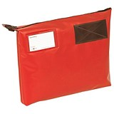 Image of A3+ Mailing Pouch with Gusset / 510 x 406 x 76mm / Red