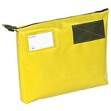 Image of A3+ Mailing Pouch with Gusset / 510 x 406 x 76mm / Yellow