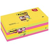 Image of Post-it Z-Notes / 76x76mm / Rio / Pack of 12 x 100 Notes
