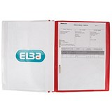 Image of Elba A4+ Report Files / Red / Pack of 25
