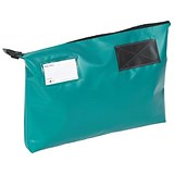Image of A3 Mailing Pouch with Gusset / 470x336x76mm / Green