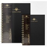 Image of Concord Hardcover Wirobound Notebook / A5 / Pack of 3
