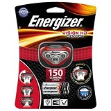 Image of Energizer Vision HD Headlight / Dimmable / LED / 150 Lumens / 3 Light Modes