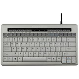 Image of Bakker Elkhuizen S-board 840 Keyboard / Ergonomic / USB Hub / Silver
