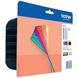 Image of Brother LC223 Inkjet Cartridge Value Pack - Cyan, Magenta, Yellow & Black (4 Cartridges)