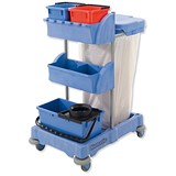 Image of Numatic Xtra-Compact XC-1 Cleaning Trolley