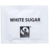 Image of Fairtrade White Sugar Sachets - Pack of 1000