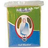 Image of Wallace Cameron First-Aid Emergency Foil Blanket - Pack of 6