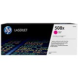 Image of HP 508X Magenta LaserJet Toner Cartridge