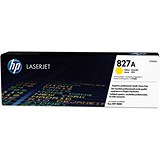 Image of HP 827A Yellow LaserJet Toner Cartridge