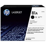Image of HP 81A Black LaserJet Toner Cartridge