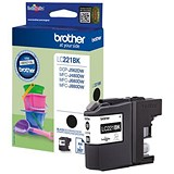 Image of Brother LC221 Black Inkjet Cartridge