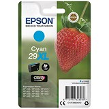 Epson No. 29XL Cyan InkJet Cartridge