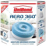 Image of UniBond Aero 360 Moisture Absorber Refill Pure Ref 2106199 [Pack 4]