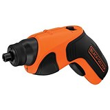 Image of Black & Decker 3.6v Lithium Ion Cordless Screwdriver Ref CS3651LC-GB