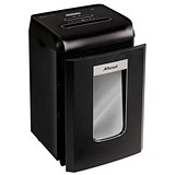 Image of Rexel Promax RSX1538 Office Shredder Cross Cut P-4 4x35mm Grey Ref 2100890A [Promo]
