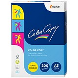 Color Copy Premium Copier Paper / White / 200gsm / A3 / 250 Sheets