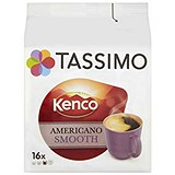 Image of Tassimo Kenco Americano Smooth - Pack of 5