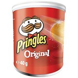 Pringles PopnGo Original Crisps - Pack of 12 (40g)