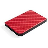 Image of Verbatim Hard Drive / USB 3.0 / 1TB / Red