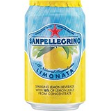 Image of San Pellegrino Sparkling Lemon Citrus - 24 x 330ml Cans