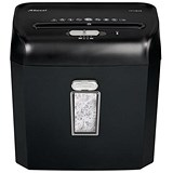 Image of Rexel Promax RPX612 Personal Shredder Cross Cut P-4 4x35mm Slate Grey Ref 2101843A