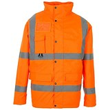 Image of Supertouch High Visibility Breathable Jacket / Extra Large / Orange