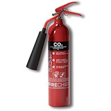 Image of IVG Firechief Fire Extinguisher CO2 for Class A and B and E 2kg Ref IVGS2.0KCO2