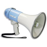 Image of IVG Power Megaphone Hand-held Battery Operated with Volume Control Ref IVGSMEPH