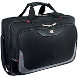 Gino Ferrari Enza Business Bag with Laptop Compartment Nylon Capacity 16inch Black
