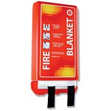 Image of IVG Fire Blanket Woven Glass Fibre 1100x1100mm Ref IVGSFB1M