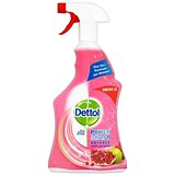 Image of Dettol Power Fresh Pomegranate Antibacterial Multi Purpose Cleaner Trigger Spray 1 Litre Ref 3007938