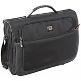 Image of Gino Ferrari Titan Messenger Bag with Laptop Compartment Nylon Capacity 17 Inch Black Ref GF521