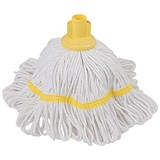 Robert Scott & Sons Hygiemix Cotton & Synthetic Yarn Mop / Socket / 250g / Yellow