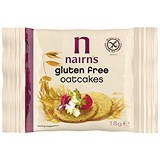Nairns Gluten Free Oat Cakes - 60 x 18g Packs