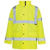 Image of Supertouch High Visibility Standard Parka / Extra Large / Yellow
