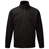 Image of Supertouch Basic Fleece Jacket / Black / XXXL