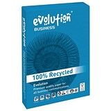 Evolution Business A3 Recycled Paper / White / 100gsm / Ream (500 Sheets)