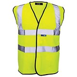 High Visibility Vest / XXL / Yellow