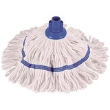 Image of Robert Scott & Sons Hygiemix Cotton & Synthetic Yarn Mop / Socket / 200g / Blue