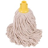 Image of Robert Scott & Sons Socket Mop for Smooth Surfaces PY 16oz Yellow Ref PJYY1610 [Pack 10]