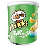 Image of Pringles PopnGo Sour Cream Onion Crisps - Pack of 12 (40g)