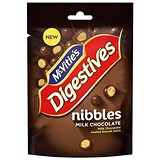 Image of McVities Milk Chocolate Nibbles in Resealable Packet 120g Ref A07976
