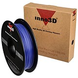 Image of Inno3D PLA Filament for 3D Printer 1.75x200mm 0.5kg Purple Ref 3DPFP175PU05