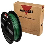 Image of Inno3D PLA Filament for 3D Printer 1.75x200mm 0.5kg Dark Green Ref 3DPFP175SG05