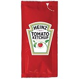 Image of Heinz Tomato Ketchup Sachets - Pack of 200