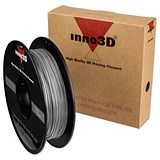 Image of Inno3D PLA Filament for 3D Printer 1.75x200mm 0.5kg Silver Ref 3DPFP175SL05