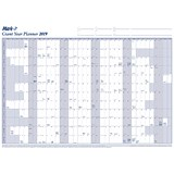 Mark-it 2019 Giant Year Planner / Unmounted / 1170x840mm