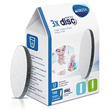 Brita Fill & Go Vital & Active Micro Disc Filters - Pack of 3 x 8