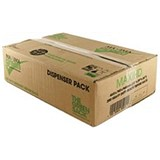 The Green Sack Heavy Duty Refuse Sacks / 15kg Capacity / 70 Litre / 457x737x965mm / Black / Pack of 200